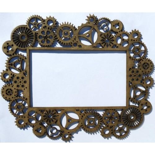Steampunk Gear Frame - Frames