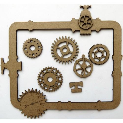 Steampunk Pipe Frame - Frames