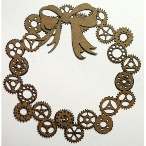 Steampunk Wreath - Steampunk