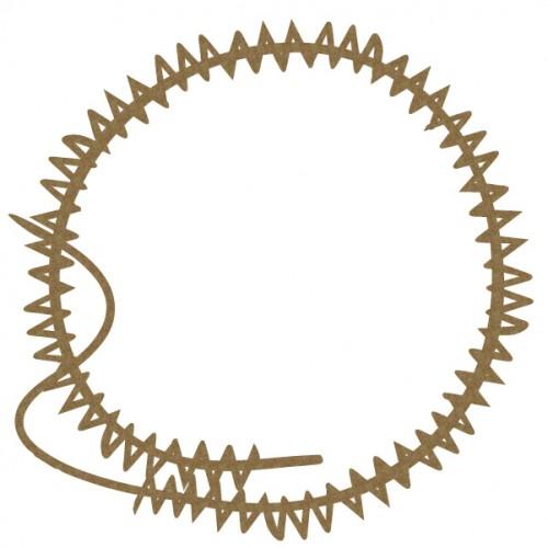 Circle Stitched Frame - Frames