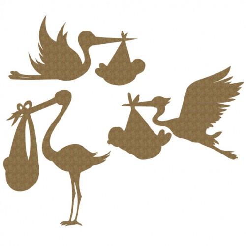 Stork Set - Baby