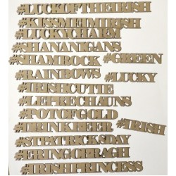 St. Patty's Day Hashtags