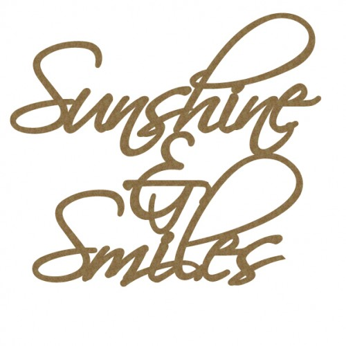 Sunshine and Smiles - Words