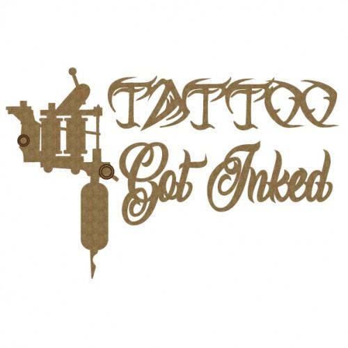 Tattoo Set - Words