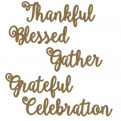 Thankful Word Set