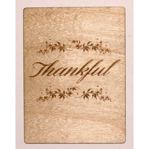 "Thankful - 3""x4"" Cards"