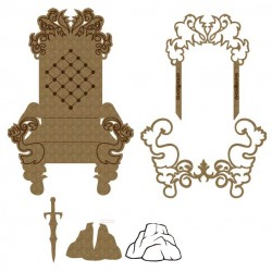 Throne and Stone Set