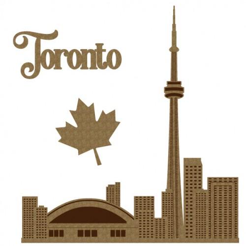 Toronto Set - Chipboard