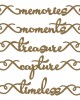 Small Moments Border Words - Words