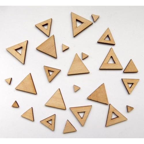 Trendy Triangles - Wood Veneers