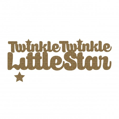 Twinkle Twinkle Little Star Title - Baby