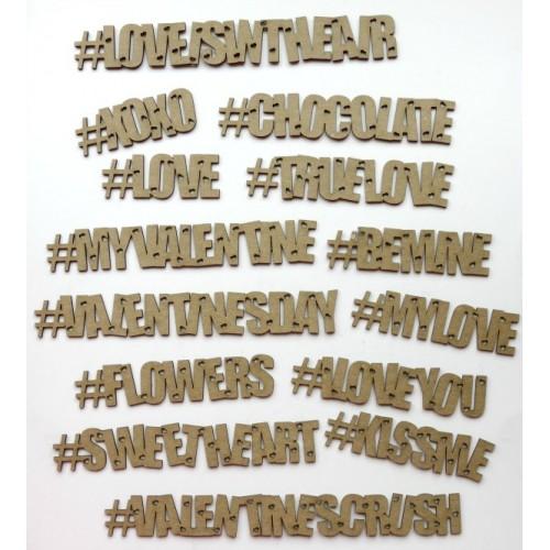Valentine s Hashtags - Social Media
