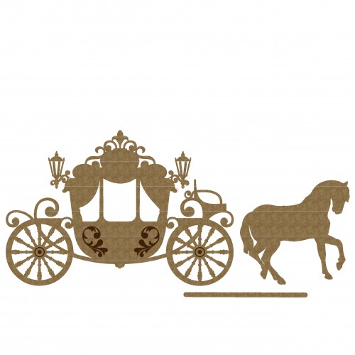 Victorian Carriage - Chipboard