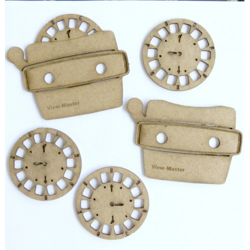 View Master Set of 5 - Games and Toys