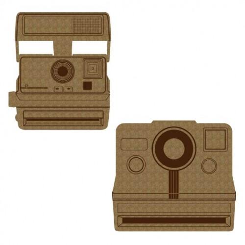 Vintage Camera - Chipboard