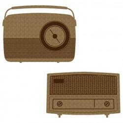 Vintage Radio Set 1