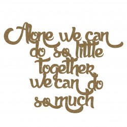 We Can Together Quote