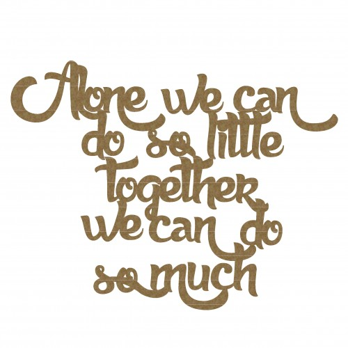 We Can Together Quote - Words