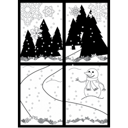 Winter Wonderland Stamp