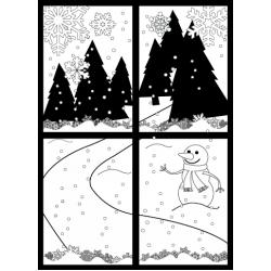 Winter Wonderland Stamp