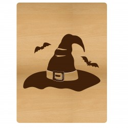 Witch Hat Card
