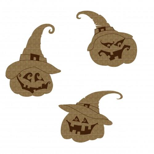 Witchy Pumpkins - Halloween