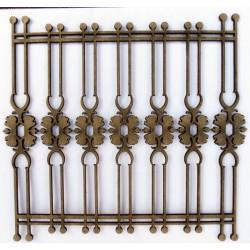 Wrought Iron Fence 1 (Set of 2)