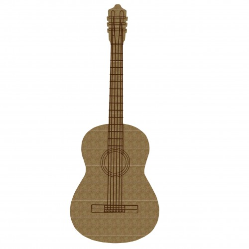 Acoustic Guitar - Chipboard