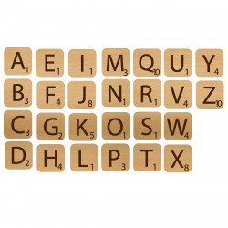 Alphabet Game Pieces