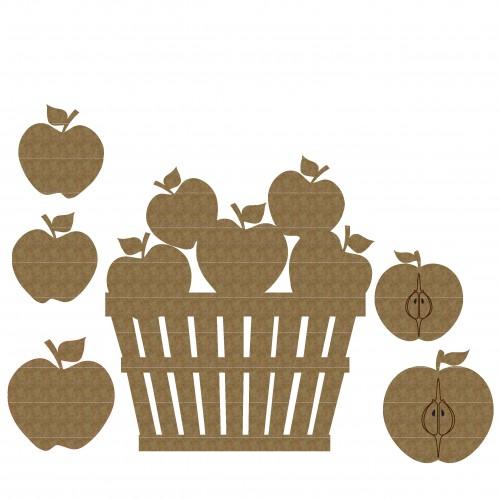 Bucket Of Apples - Fruit