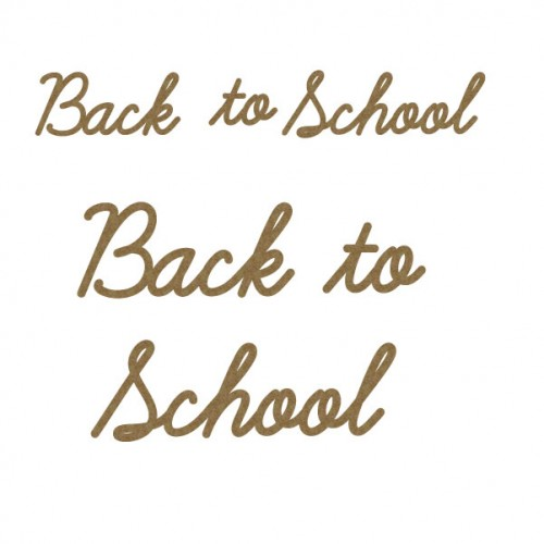 Back to School - School