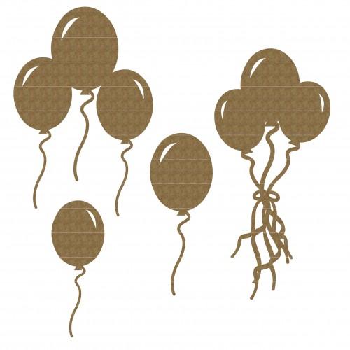 Balloon Set 2 - Chipboard