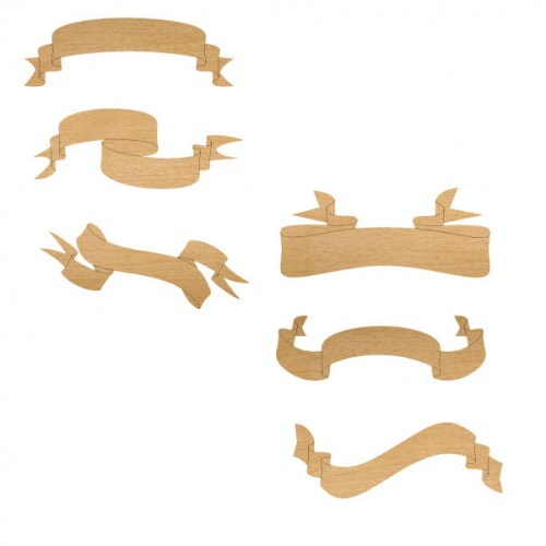 Banners - Wood Veneers