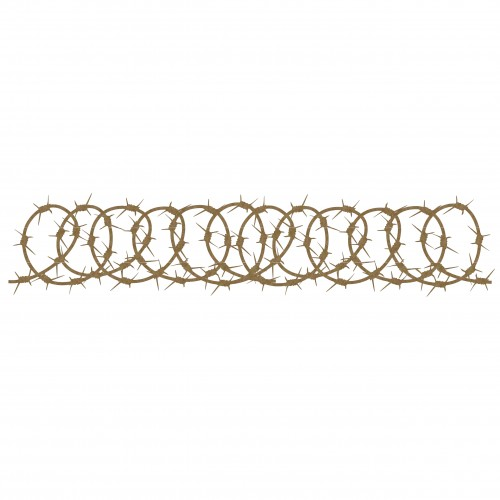 Barbed Wire Border 4 - Borders