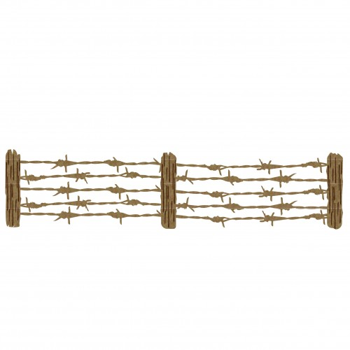 Barbed Wire Fence - Fences and Gates