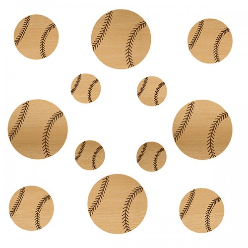 Baseball Wood Set - Sports