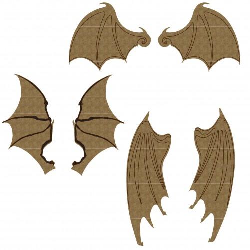Bat Wing Set 1 - Wings