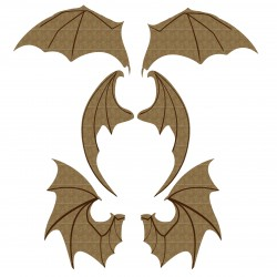 Bat Wings Set 2