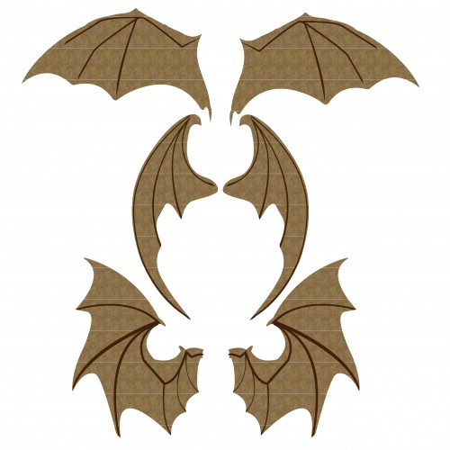 Bat Wings Set 2 - Wings