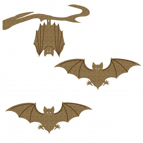 Bats - Chipboard