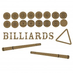 Billiards Set