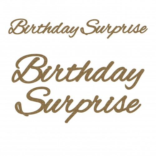Birthday Surprise - Titles, Quotes & Sayings