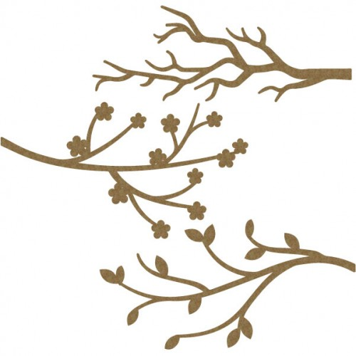 Branches (set of 3) - Trees
