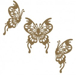 Flourish Butterfly Set 2