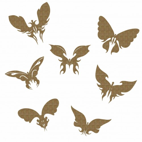 Butterflies - Wings