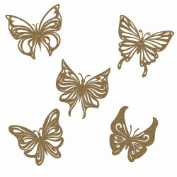 Butterflies (Set of 5)