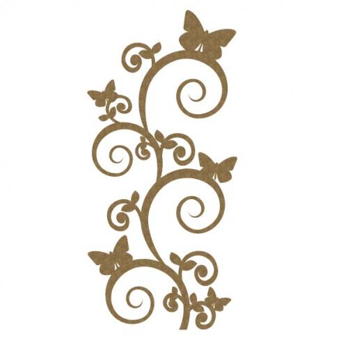 Butterfly Flourish - Flourishes