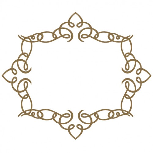 Calligraphic Frame - Frames