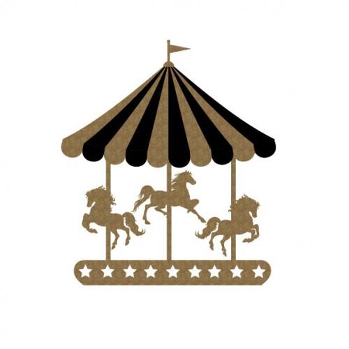 Carousel - Chipboard
