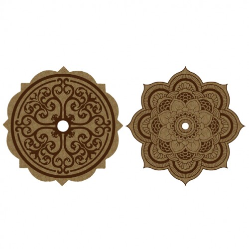 Ceiling Medallions - Chipboard